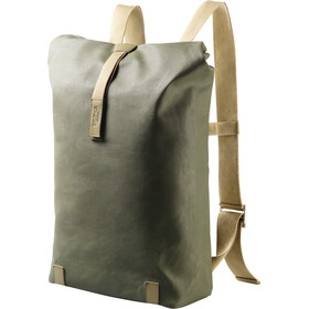 Brooks Pickwick Canvas Backpack small sage green/marsh green